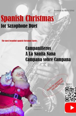 Spanish Christmas for 2 Saxophones