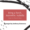 Bring a Torch...flute/oboe (cover pg.)