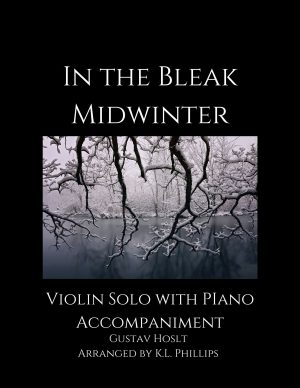 In the Bleak Midwinter – Violin Solo with Piano Accompaniment