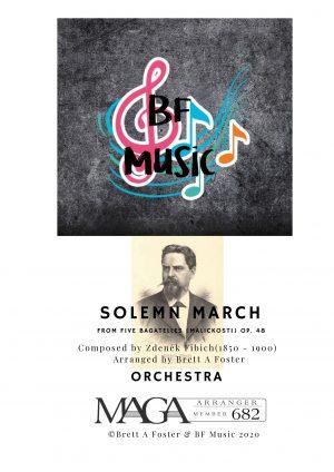 Solemn March for Orchestra by Zdeněk Fibich