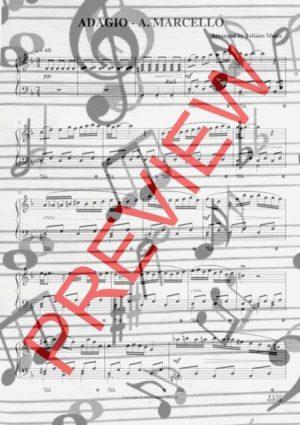 ADAGIO (EASY PIANO) – A. MARCELLO