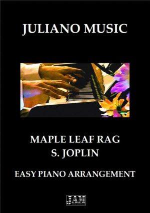 MAPLE LEAF RAG (EASY PIANO) – S. JOPLIN