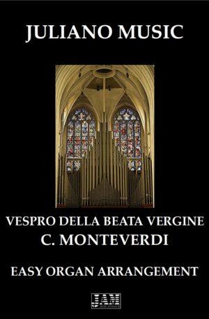 VESPRO DELLA BEATA VERGINE (EASY ORGAN) – C. MONTEVERDI