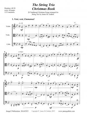 The String Trio Christmas Book