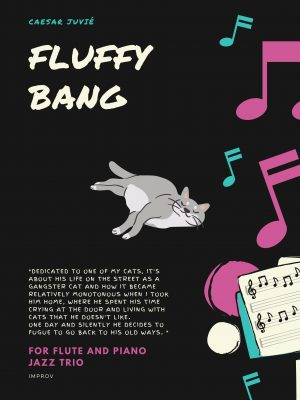 Fluffy Bang – for flute and piano jazz trio