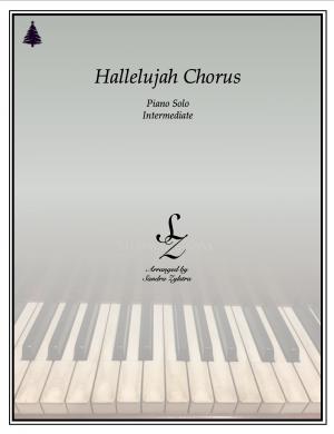 Hallelujah Chorus -intermediate piano solo