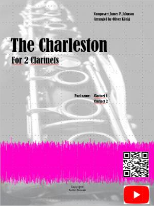 The Charleston for 2 Clarinets