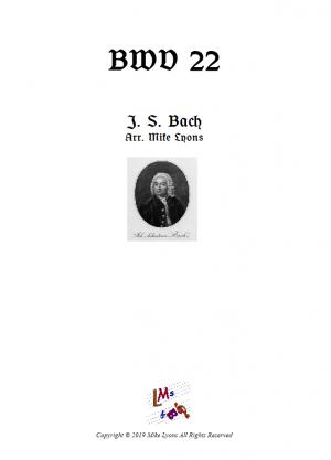 Clarinet Quintet – BWV 22