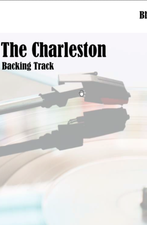 The Charleston Backing Track in Bb