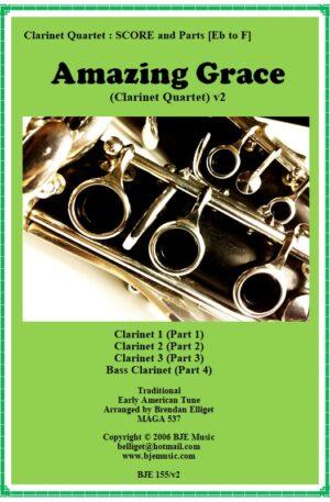 Amazing Grace – Clarinet Quartet