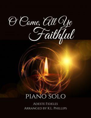 O Come, All Ye Faithful – Intermediate Piano Solo