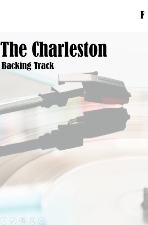 The Charleston Backing Track in F