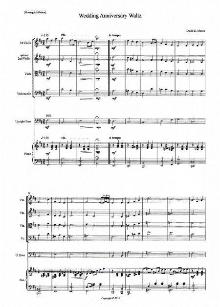 Wedding Aniversary Waltz Chamber Orchestra Sample scaled
