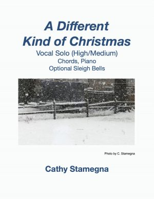 A Different Kind of Christmas – Chords, Piano, Optional Sleigh Bells (Vocal Solos, Unison Choir)