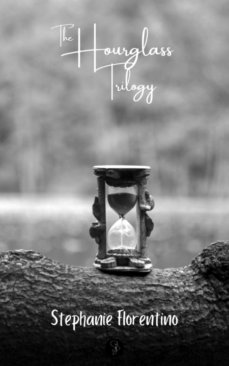 The Hourglass Trilogy cover bw