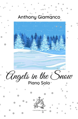 ANGELS IN THE SNOW – piano solo