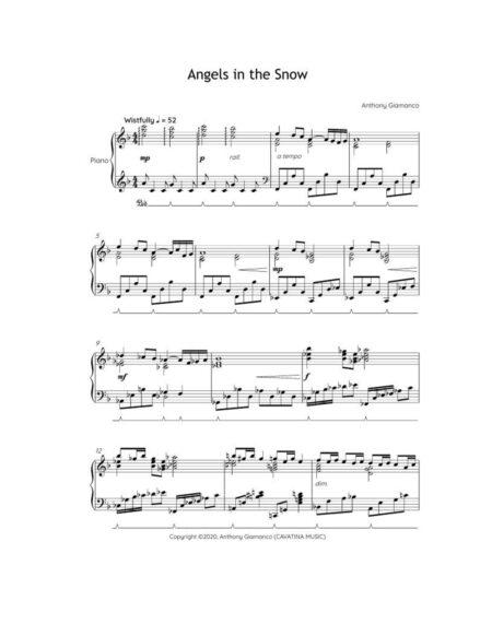 Score - page 1