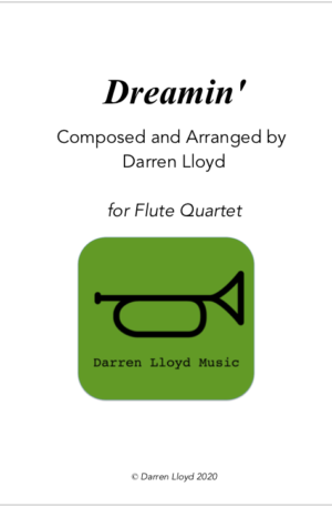 Dreamin' – Flute Quartet