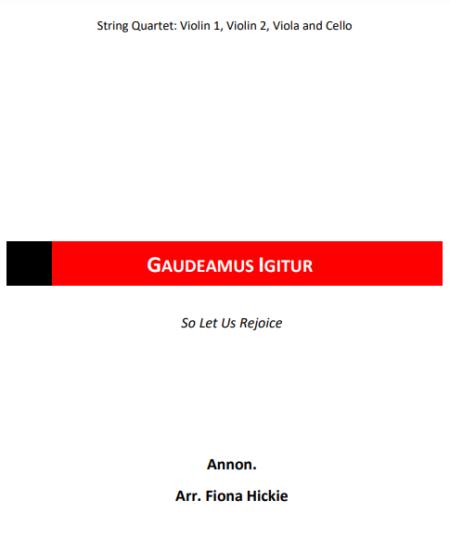 Gaudeamous Igitur Cover