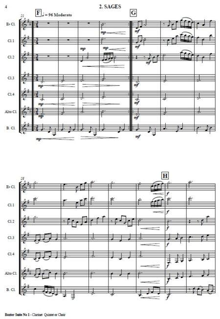 503 Baxter Suite No 1 Clarinet Quintet SAMPLE page 02