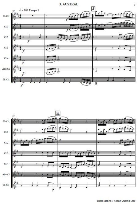 503 Baxter Suite No 1 Clarinet Quintet SAMPLE page 04