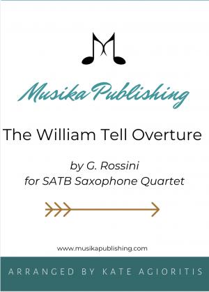 William Tell Overture – for SATB Saxophone Quartet