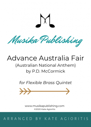 Advance Australia Fair – Flexible Brass Quintet