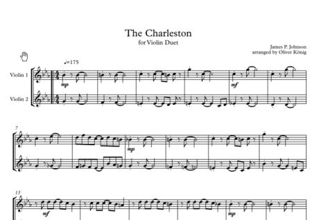 2020 12 29 22 11 15 Charleston 2 Violins Partitur PDF XChange Viewer