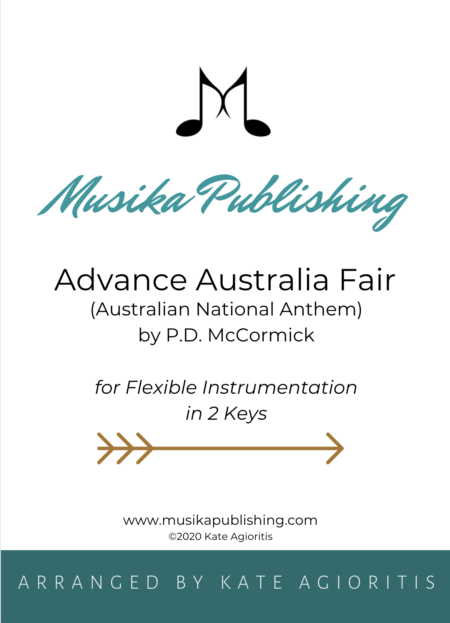 Advance Australia Fair - Flexible Instrumentation