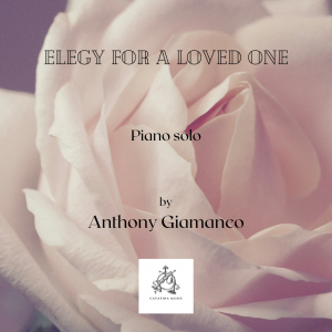 ELEGY FOR A LOVED ONE – piano solo