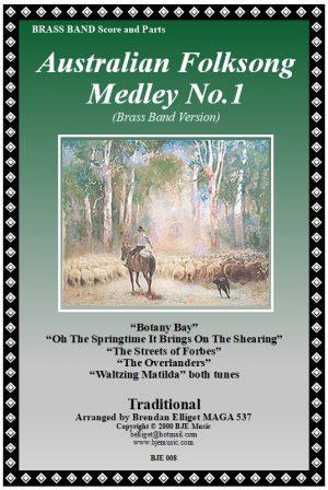 Australian Folksong Medley No. 1 – Brass Band