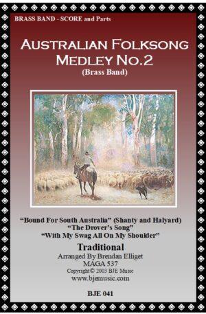 Australian Folksong Medley No. 2 – Brass Band