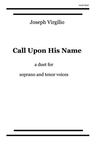 Call Upon His Name