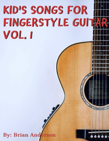 Kids songs for fingerstyle guitar