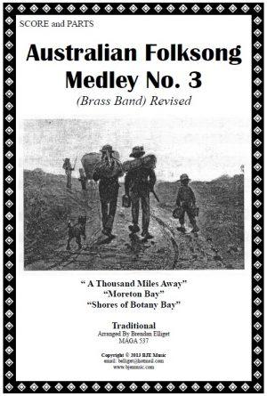 Australian Folksong Medley No. 3 – Brass Band
