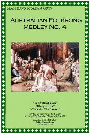 Australian Folksong Medley No. 4 – Brass Band