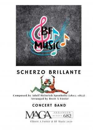 Scherzo Brillante for Concert Band by A. H Sponholtz (1803 – 1852)