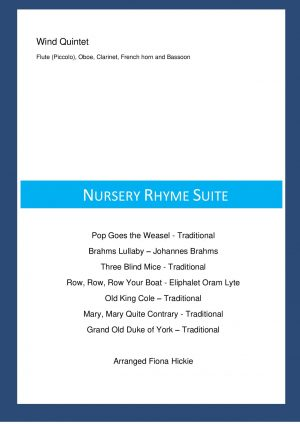 Nursery Rhyme Suite – Wind Quintet