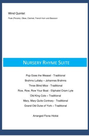 Nursery Rhyme Suite – Wind Quintet