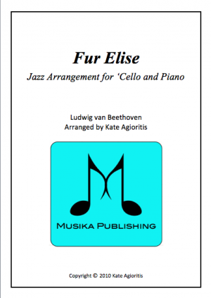 Fur Elise – Jazz Arrangement for 'Cello and Piano