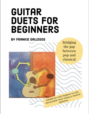 Guitar Duets for Beginners by Frankie Gallegos
