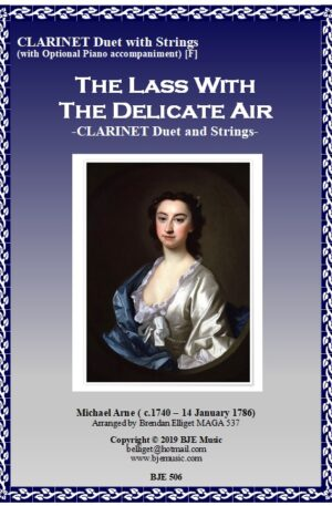 The Lass With The Delicate Air – Clarinet Duet with Strings