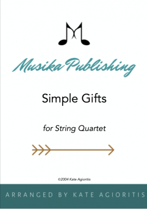 Simple Gifts – String Quartet