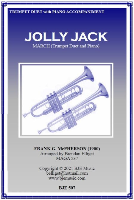 507 FC Jolly Jack March Trumpet Duet and Piano