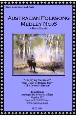 Australian Folksong Medley No. 6 – Brass Band