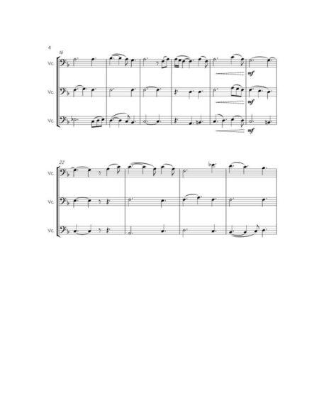 AMAZING GRACE cello trio 2