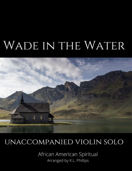 Wade in the Water - Unaccompanied Violin Solo webcover