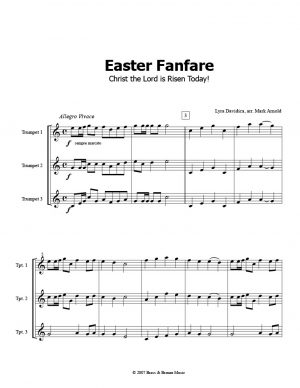 Easter Fanfare – Christ the Lord is Risen Today!