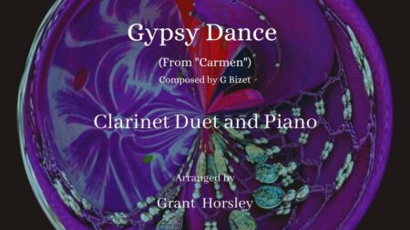 Gypsy dance clarinet duet