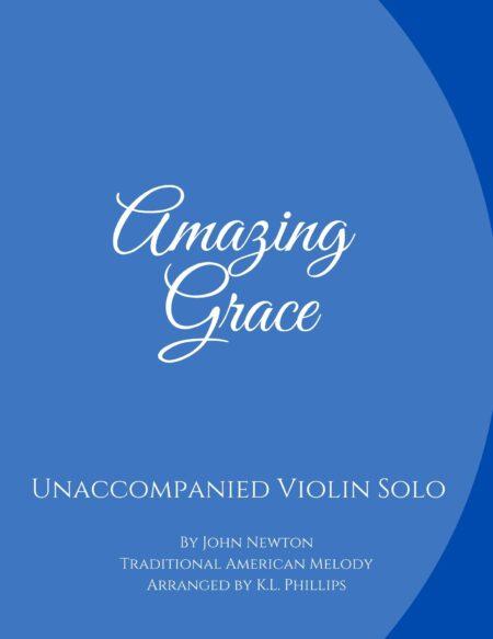 Amazing Grace - Unaccompanied Violin Solo webcover